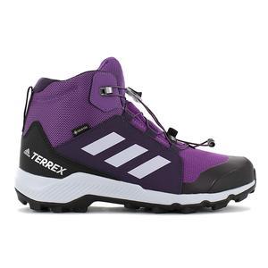 adidas TERREX Mid GTX - Gore Tex - Damen Wanderschuhe Violett BC0597