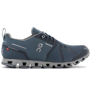 ON Running Cloud Waterproof - Herren Laufschuhe Blau 19.99681