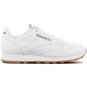 Reebok Classic Leather CL LTHR - Herren Schuhe Weiß 49799