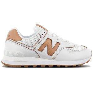 New Balance Classics 574 - Damen Schuhe Leder Weiß WL574WNG