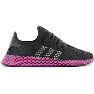 adidas Originals Deerupt Runner W - Damen Schuhe Schwarz Pink DB2687