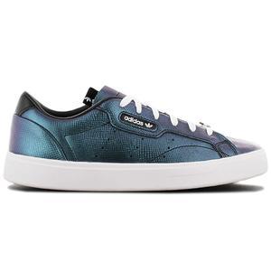 adidas Originals Sleek W - Damen Schuhe Petrol Schwarz FV3403