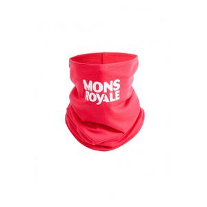 Mons Royale Double Up Neckwarmer One Size Pink
