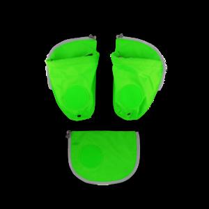 Seitentaschen Zip-Set GrŸn