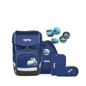 ergobag cubo Schulranzen-Set BlaulichtBär