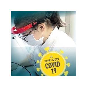 zertifizierter Gesichtschutzschild, Faceshield , made in Austria, für Fauen Männer und Kinder, Produktionspersonal, Lehrer, Medizinisches Hilfspersonal, ...