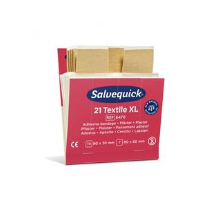 Salvequick Textilpflaster 21 XL Plaster