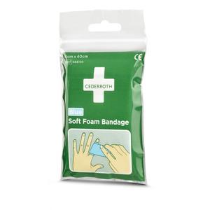 Cederroth Soft Foam Bandage Blue - 40cm Pocket size
