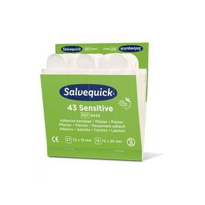 Salvequick Sensitive Pflaster 43 Pflaster