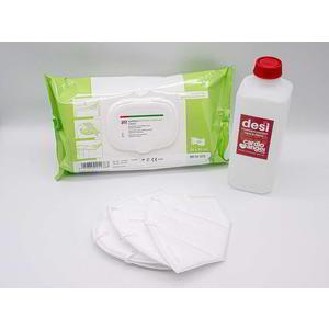 Desinfektion und Schutz Set