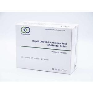 1 Stück Covid 19 Antigen Test 3 in 1