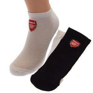 Arsenal FC Sneaker Socken 2er Pack