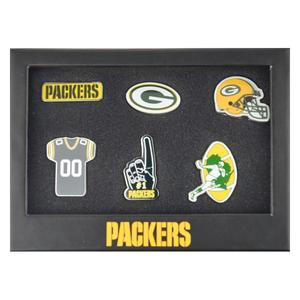 Green Bay Packers 6er Pinset