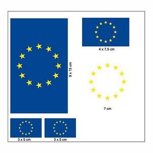 """Aufkleber Set """"EU"""""""