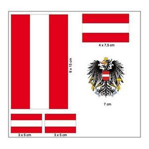 """Aufkleber Set """"Österreich"""""""