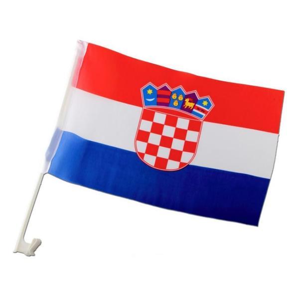 Kroatien Autofahne