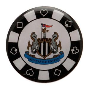"Newcastle United Pin ""Pokerchip"""