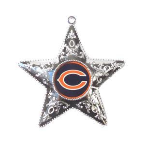 """Chicago Bears Weihnachtsbaum Deko """"Silver Star"""""""