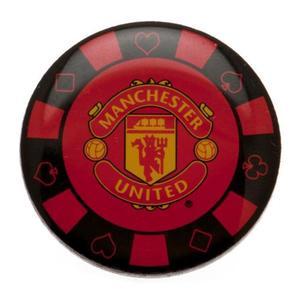 "Manchester United Pin ""Pokerchip"""