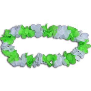 Blumenkette grün/weiß