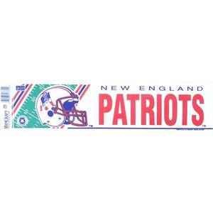 New England Patriots Aufkleber