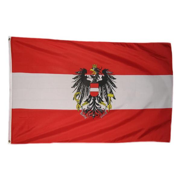 """Handfahne Österreich 90x150cm """"Adler"""""""