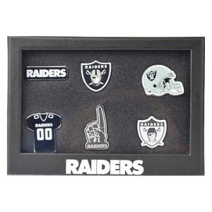 Oakland Raiders 6er Pinset