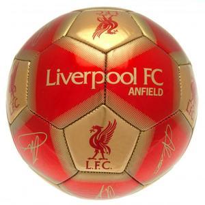 Liverpool FC Ball Unterschriften GB - Gr.5