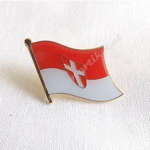 """Flaggen Pin """"Wien"""""""