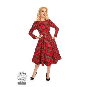 HIGHLAND SWING DRESS IN RED