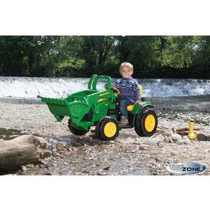 Kinderfahrzeug Traktor Peg Perego John Deere Ground Loader 12V Kinderauto Kinder Elektro Auto