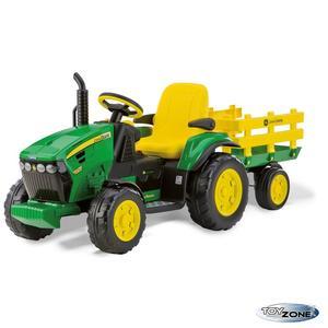 Kinderfahrzeug Traktor Peg Perego John Deere Ground Force 12V Kinderauto Kinder Elektro Auto