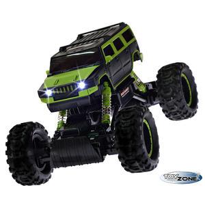 RC Auto Rock Crawler RC Monstertruck grün 2,4GHz 4 WD Climbing Auto 1:14 Komplettset