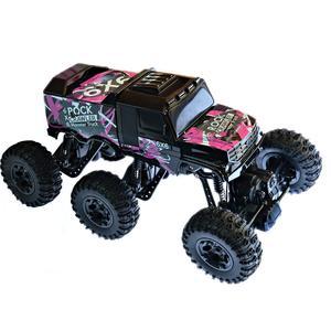 RC Auto Rock Crawler 6 x 6 ROCK MONSTER 2,4GHz 6 WD Climbing Auto 1: 8 Komplettset