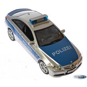 Rc Polizei Auto Mercedes E350 Coupe mit Sirene Lizenz Fahrzeug