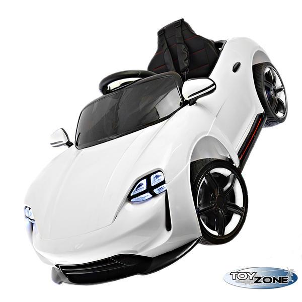 Kinderfahrzeug 12V Kinder Elektro Auto Concept EVA Gummiräder MP3 USB Kinderauto Kinderfahrzeuge Ledersitz 2,4 GHZ