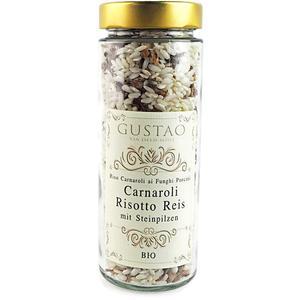 Risotto Carnaroli Reis aus Italien mit Steinpilzen | Bio
