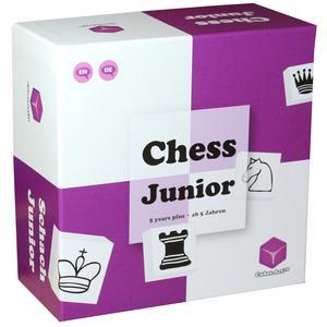 """Schach Junior - Nominiert """"Bestes Spielzeug des Jahres 2019""""; Schachspiel, Lernspiel für Kinder mit Eltern Kind Anleitung (Chess Junior), violett/weiß"""