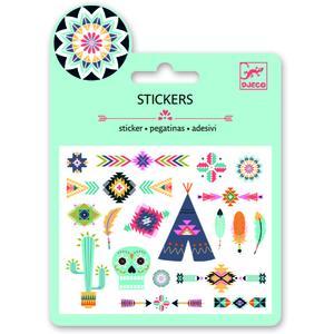 Mini-Sticker Western style