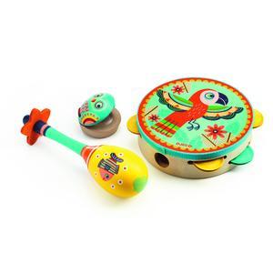 Tambourine, maracas, castanet - Instrumente