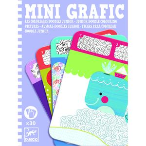 Mini Grafic, Junior doodle colouring pictures
