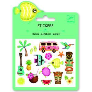 Mini-Sticker Hawaiian desings