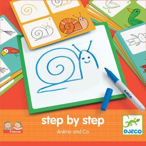 Tiere zeichnen - Schritt für Schritt