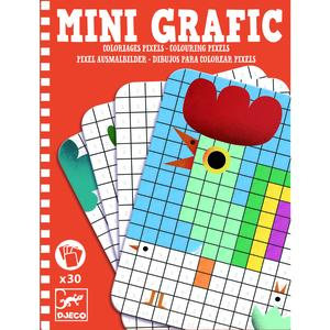 Mini Grafic, Colouring pixels