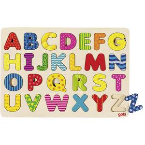 Alphabetpuzzle A - Z, bunt
