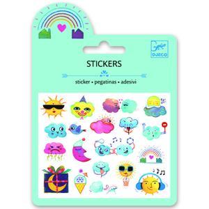 Mini-Sticker Wetter