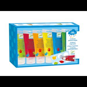 Fingerfarben in Tuben - auswaschbar