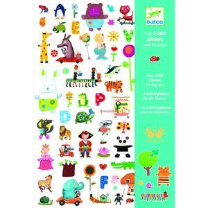 1000 Sticker für Kinder
