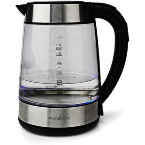 Nedis Wasserkocher Glas KAWK320EGS