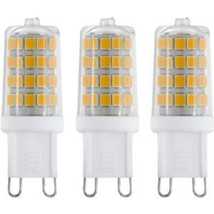 Eglo 3er Set LED Stiftsockel G9 3W warmweiß -